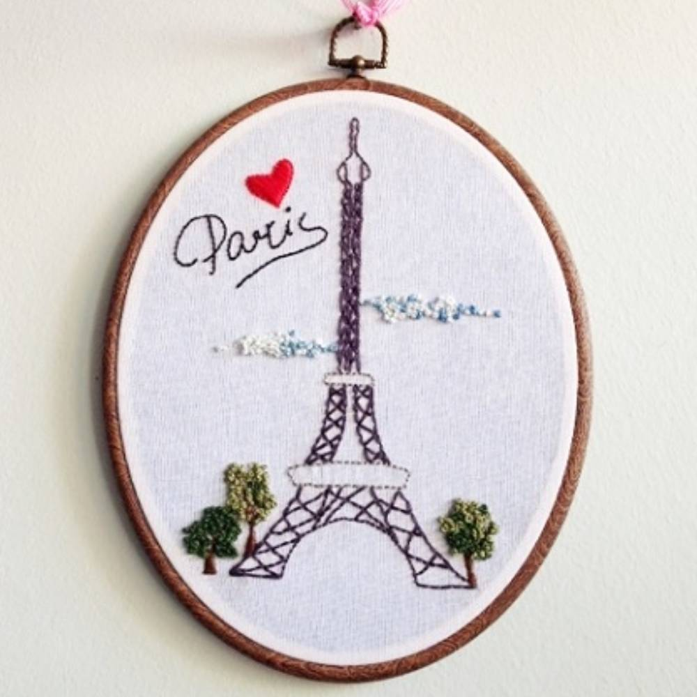Nakış Tablo Eiffel Paris K2437